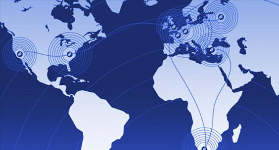 Map-of-telehouse-Data-centers-globally