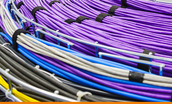 Cables used in Internet Peering