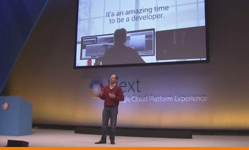 Keynote Address at Google Next event