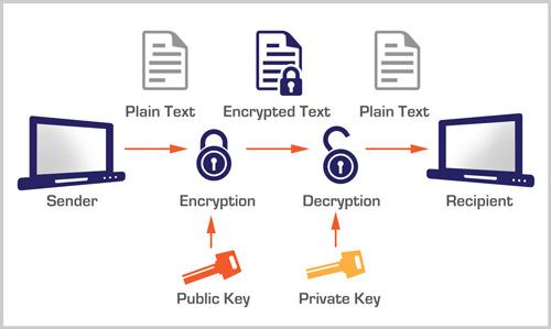 Data Encryption graphic