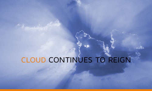 Cloud continues to reign
