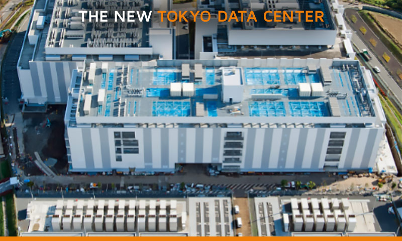 Exterior of new Telehouse Tokyo Data Center