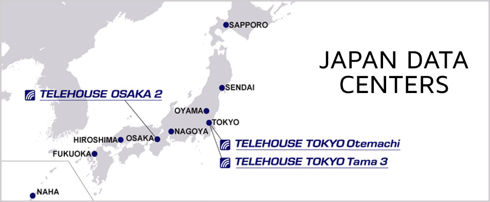 Japan data centers telehouse japan data centers map gumiabroncs Images