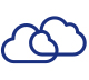 Cloud Link Icon Multi-cloud access