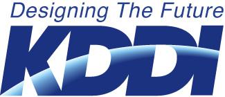 KDDI-Logo-Designing the Future